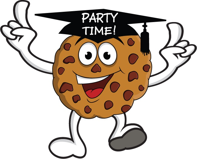 One Smart Cookie Clip Art Cartoon free image.