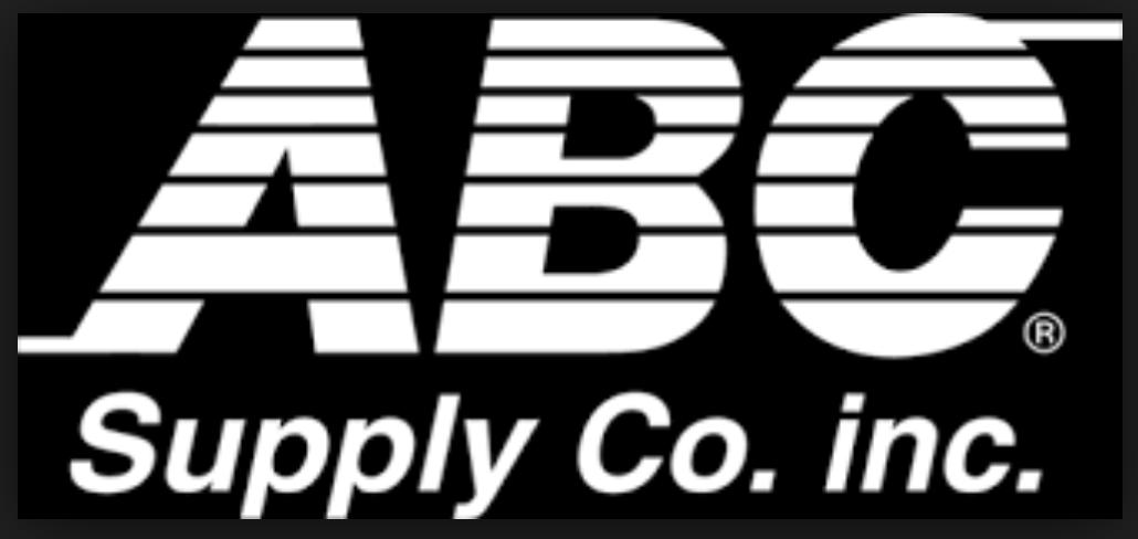 ABC SUPPLY LOGO BLACK AND WHITE.