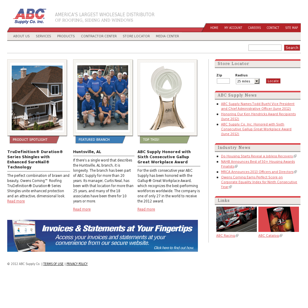 ABC Supply\'s Latest News, Blogs, Press Releases & Videos.