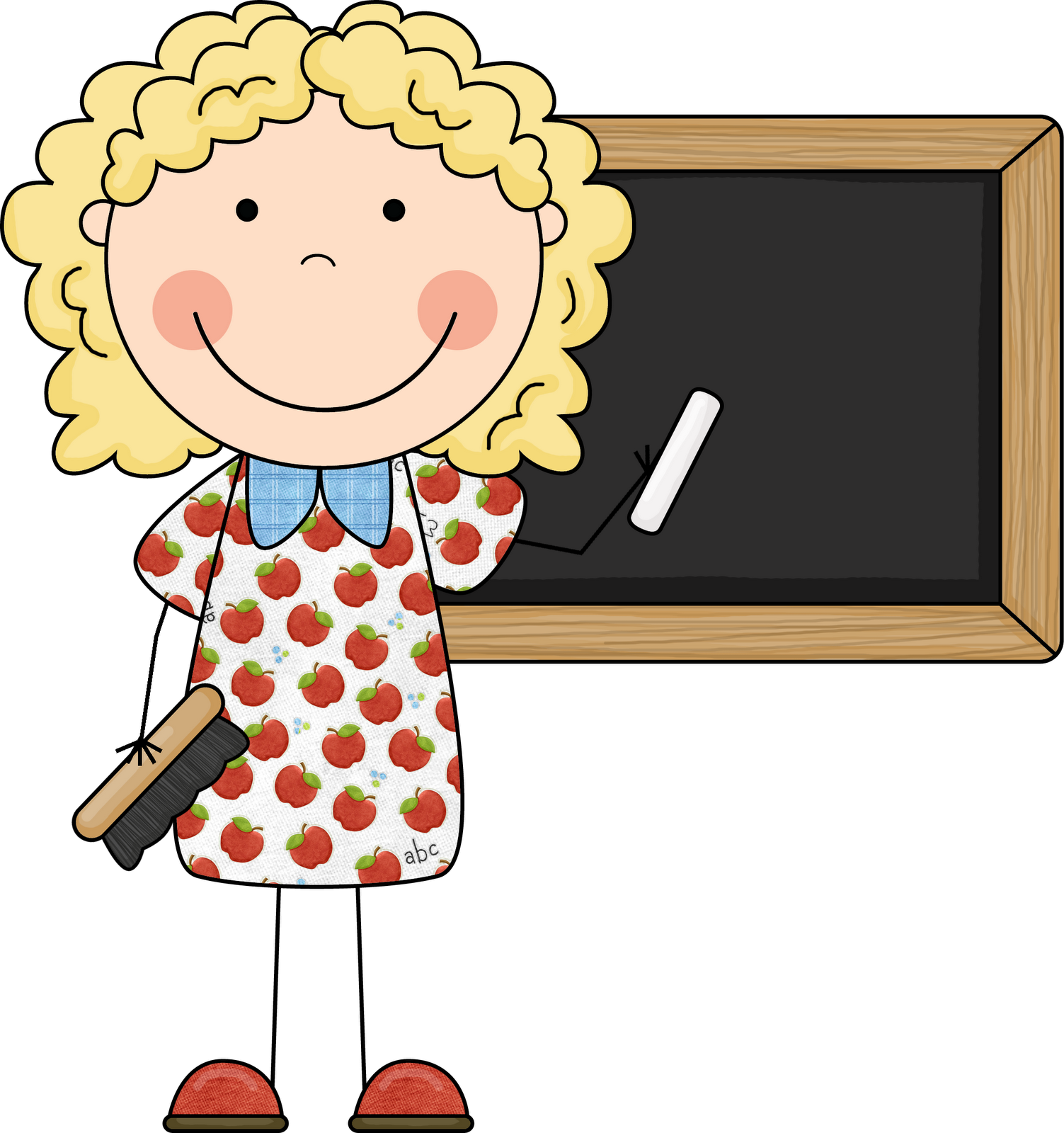 Kindergarten Teacher Clip Art.