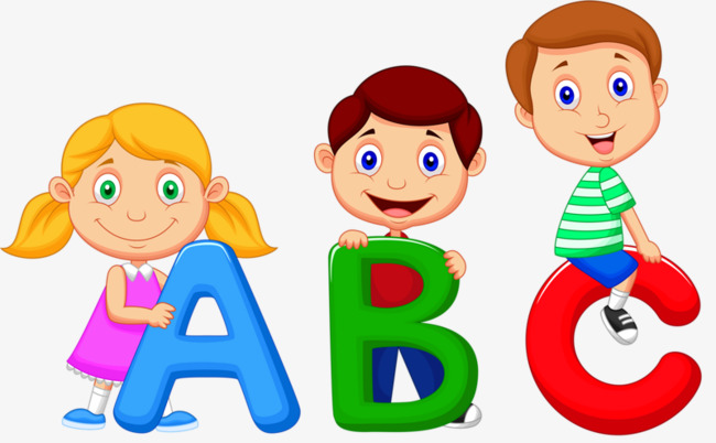 Cute Abc Clipart.