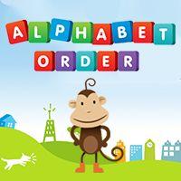 Alphabetical Order.