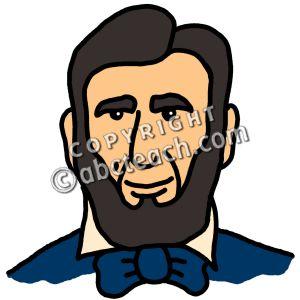 Abe Cartoon Clipart.