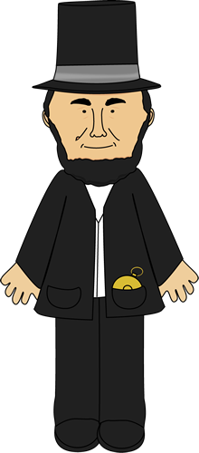 Clipart abe.