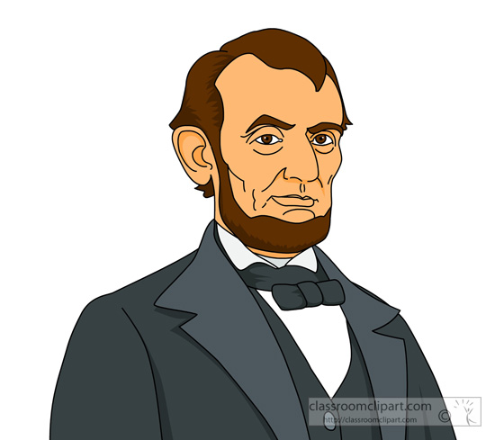 Abe Lincoln Clipart.