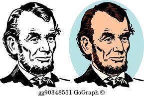 Abraham Lincoln Clip Art.