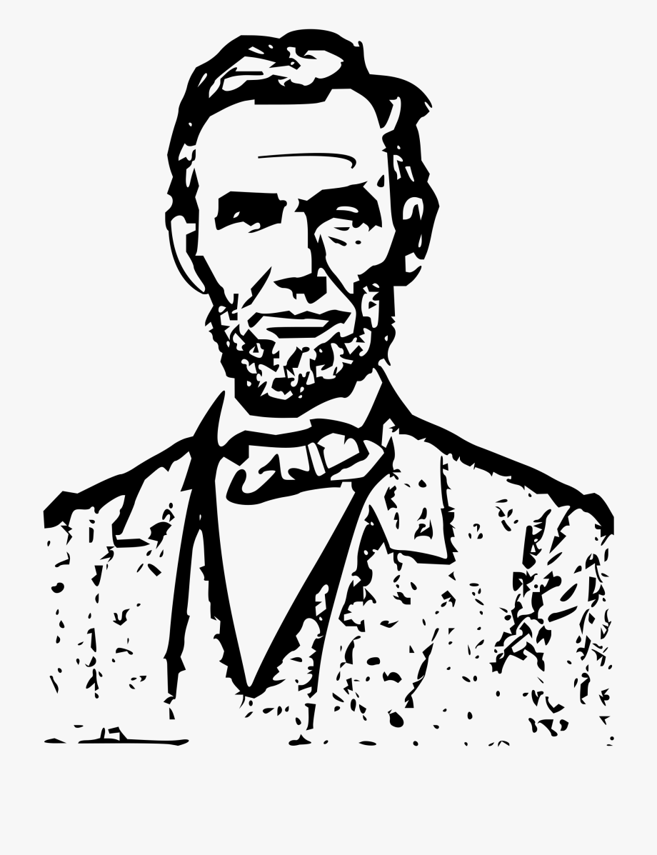 President Clipart Black And White.