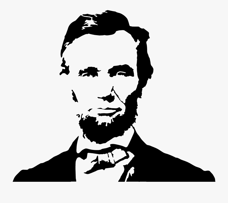 Abraham Lincoln Clipart Painting.