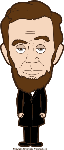 Abraham lincoln clipart trace, Abraham lincoln trace.
