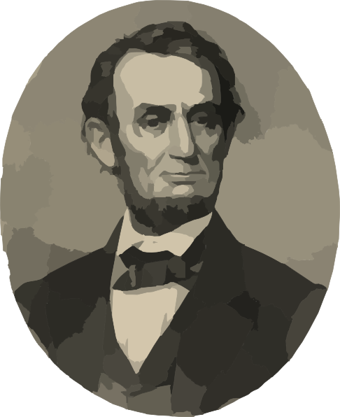 Abraham Lincoln Clipart.