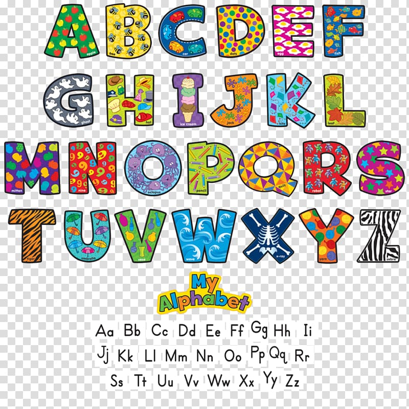 My Alphabet illustration, Cat Alphabet Letter Bulletin board.