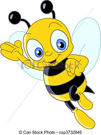 mignon, abeille.