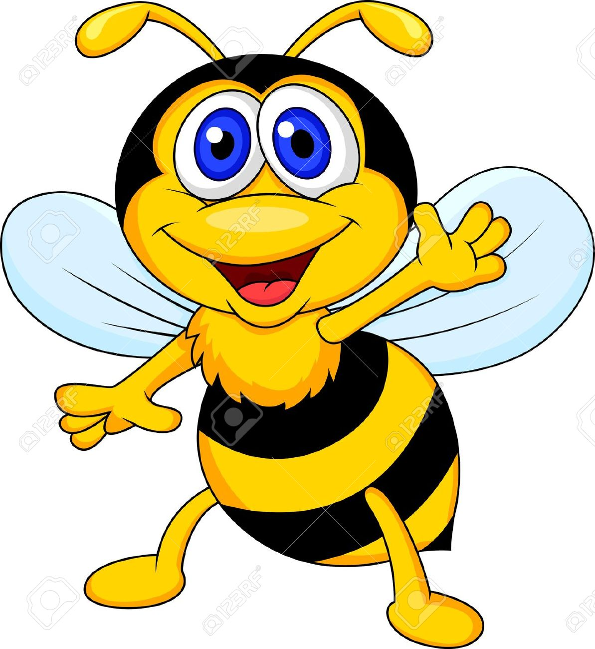 Image abeille clipart 3 » Clipart Station.