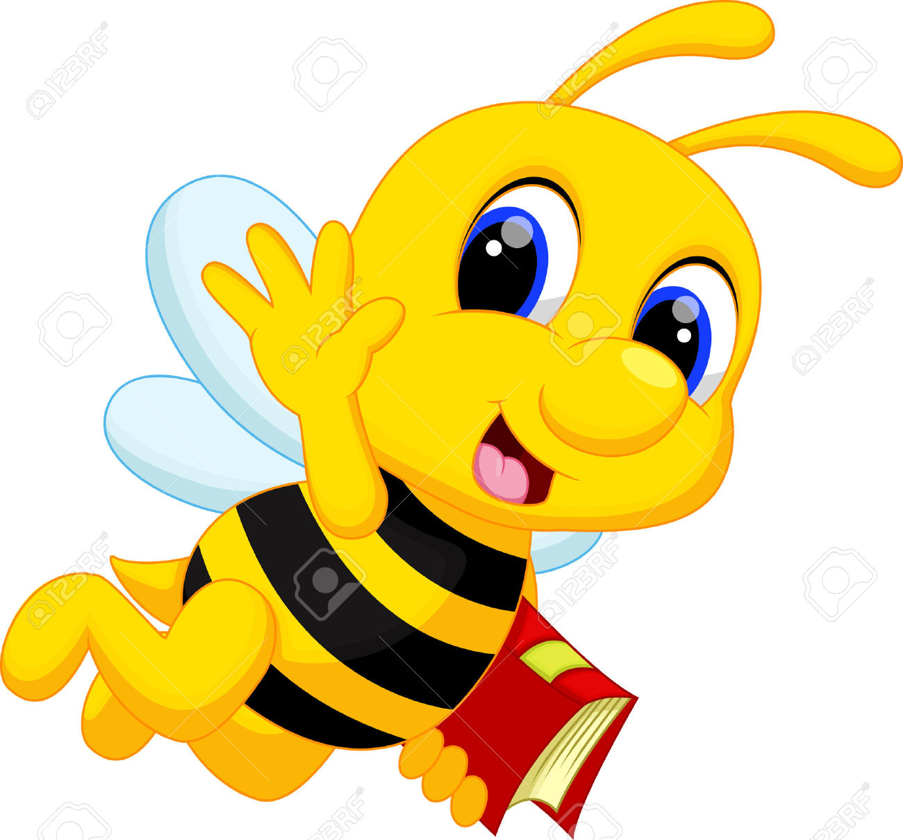 Image abeille clipart 6 » Clipart Station.