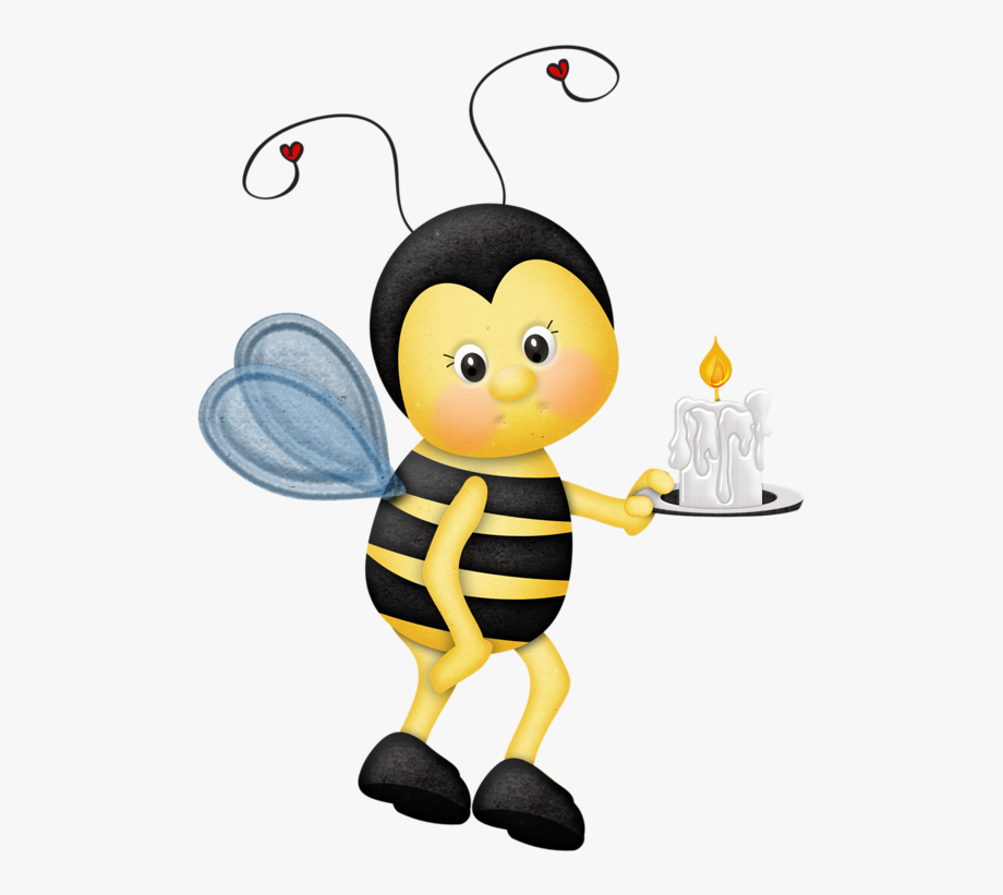 Bees Clipart Ladybug.