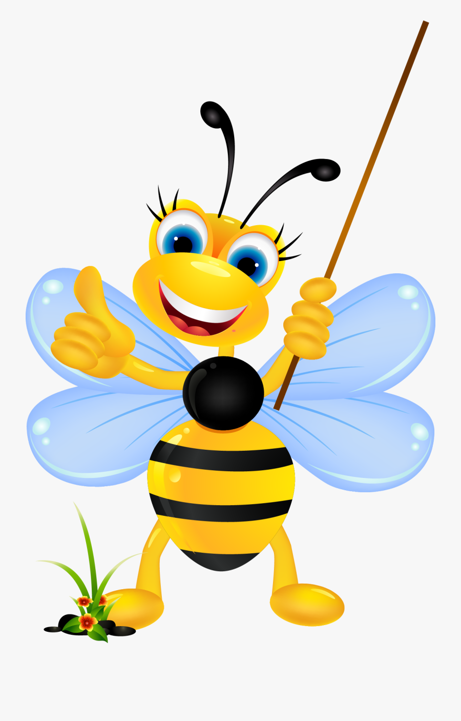 Bee Cartoon Stock Photography Clip Art.