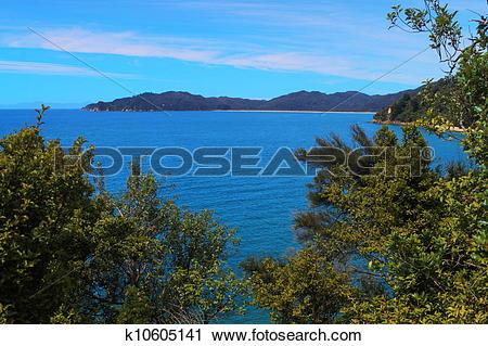 Stock Photography of Abel Tasman National Park k10605141.