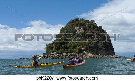 Picture of Kayaking, Kaiteriteri Coast, Abel Tasman National Park.