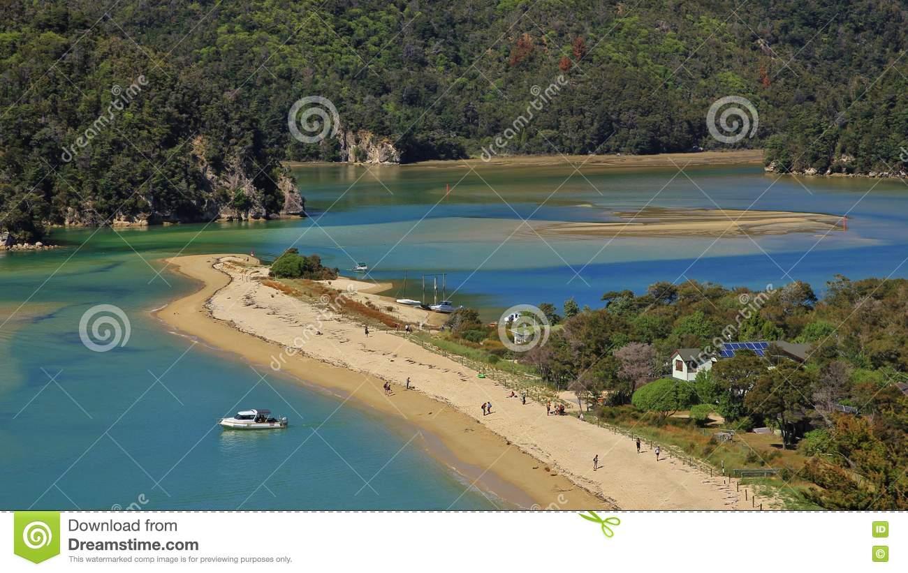 Torrent Bay, Abel Tasman National Park Stock Photo.