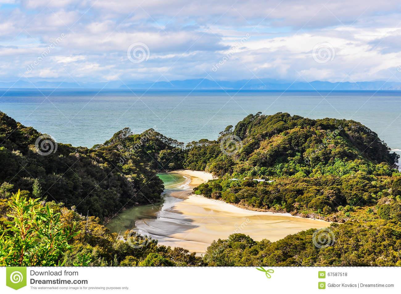 Abel tasman national park clipart #5