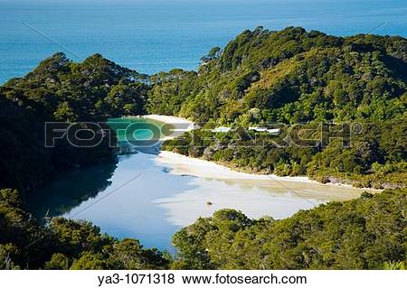 Pictures of New Zealand, Nelson, Abel Tasman National Park.