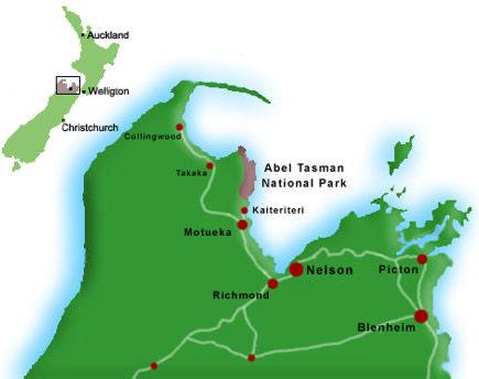 Abel Tasman National Park Information.
