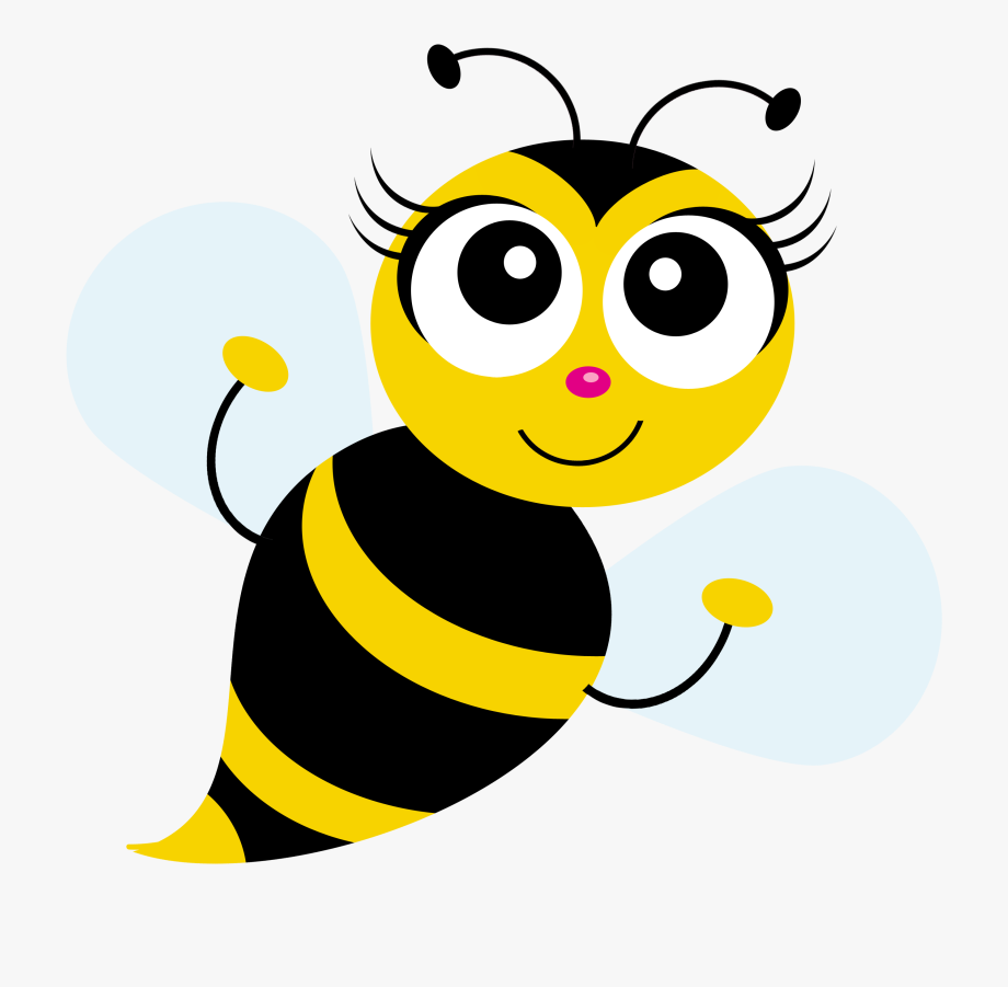 Clip Art Download Cute Bee Clipart.