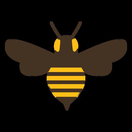 Ícone de listra de picada de asa de vespa de abelha.