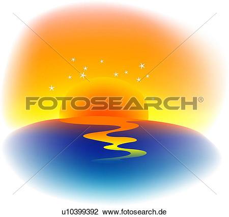 Sonnenaufgang Clip Art Lizenzfrei. 23.408 sonnenaufgang Clipart.