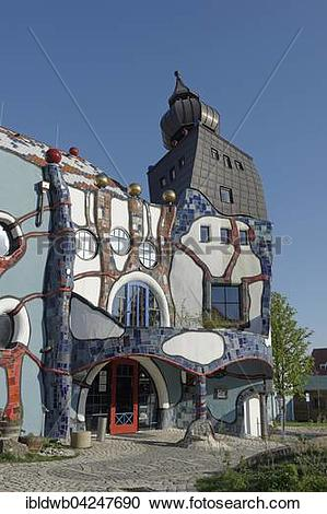 Stock Photography of KunstHausWien by architect and student of.