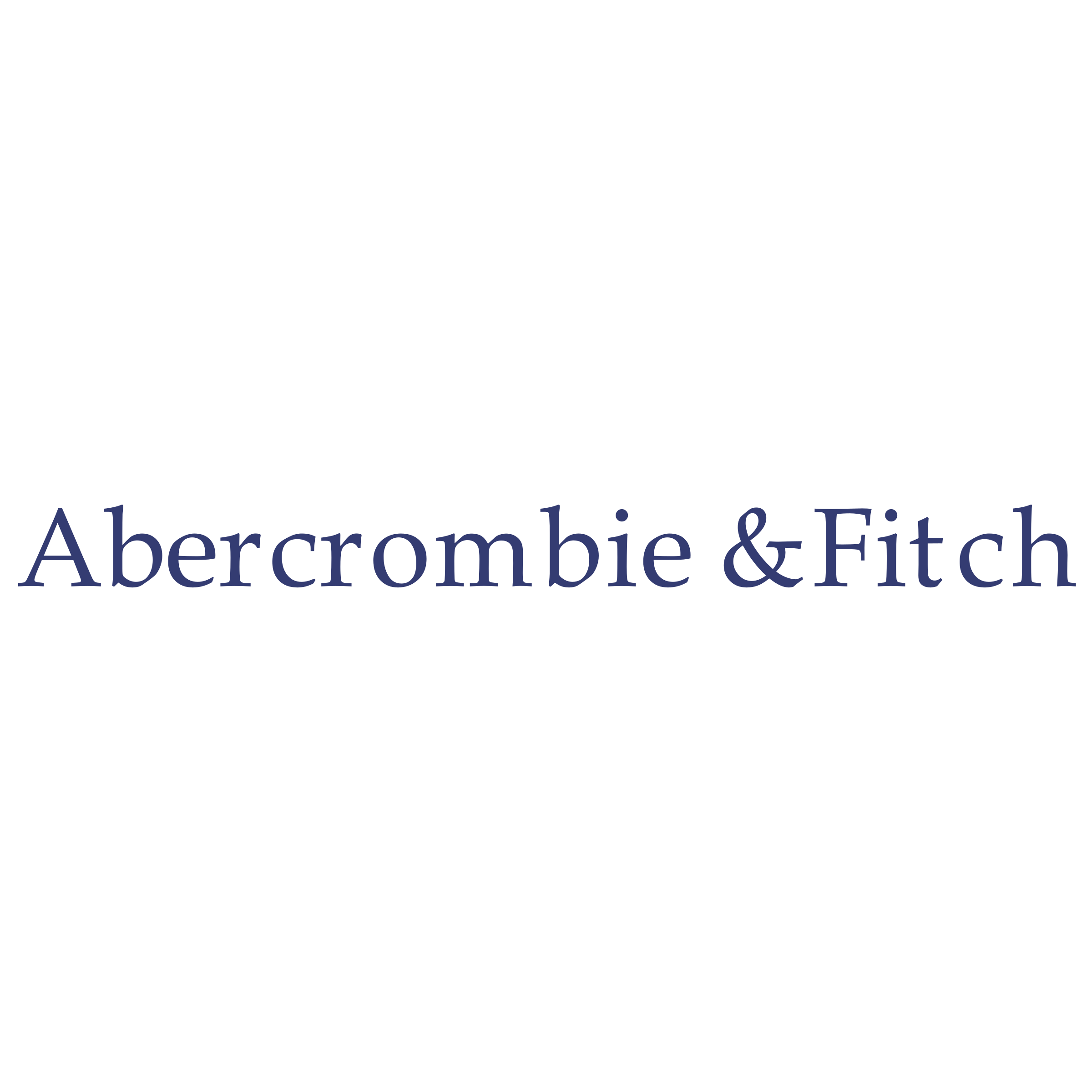 Abercrombie & Fitch Logo PNG Transparent & SVG Vector.