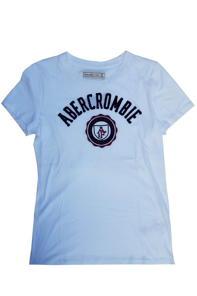 Abercrombie & Fitch Logo Tee.