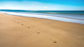 Aberdovey Seaside Holiday Resort, Wales Royalty Free Stock.