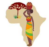 Free Africa Clipart.