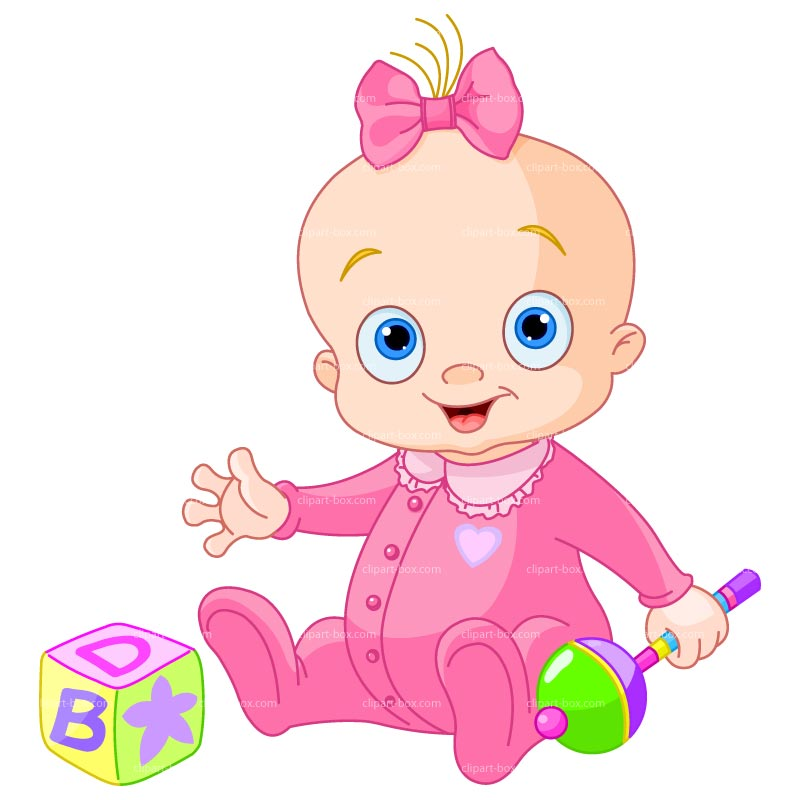 Cartoon Babies Clipart.