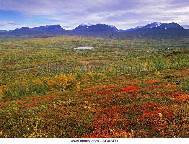 Arctic Circle Lapland Scandinavia Abisko Stock Photos & Arctic.