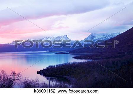 Stock Photo of Nature Abisko Sweden k35001162.