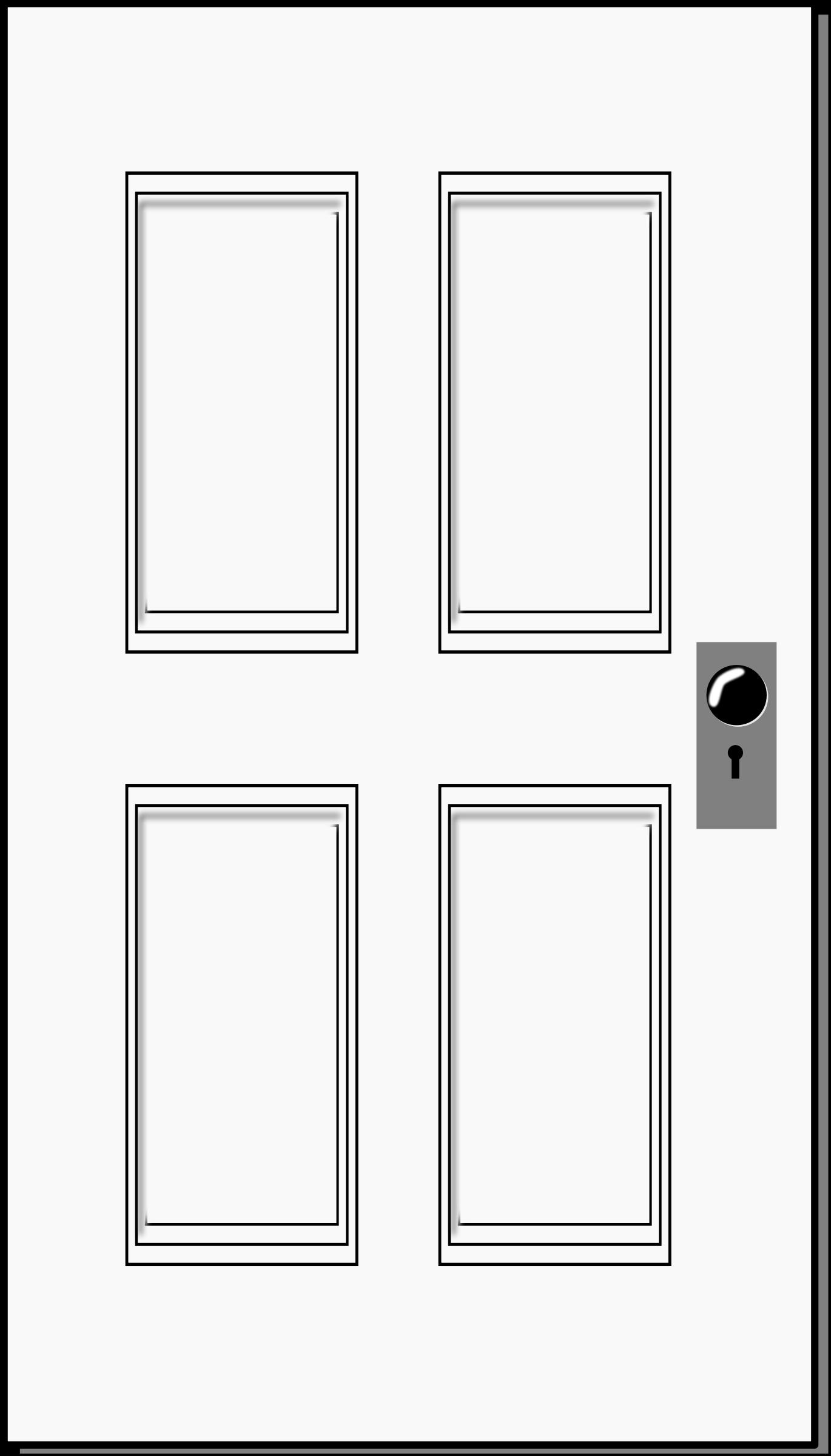 Clipart Of A Door.