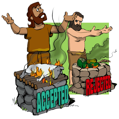Clip Art Cain and Able.