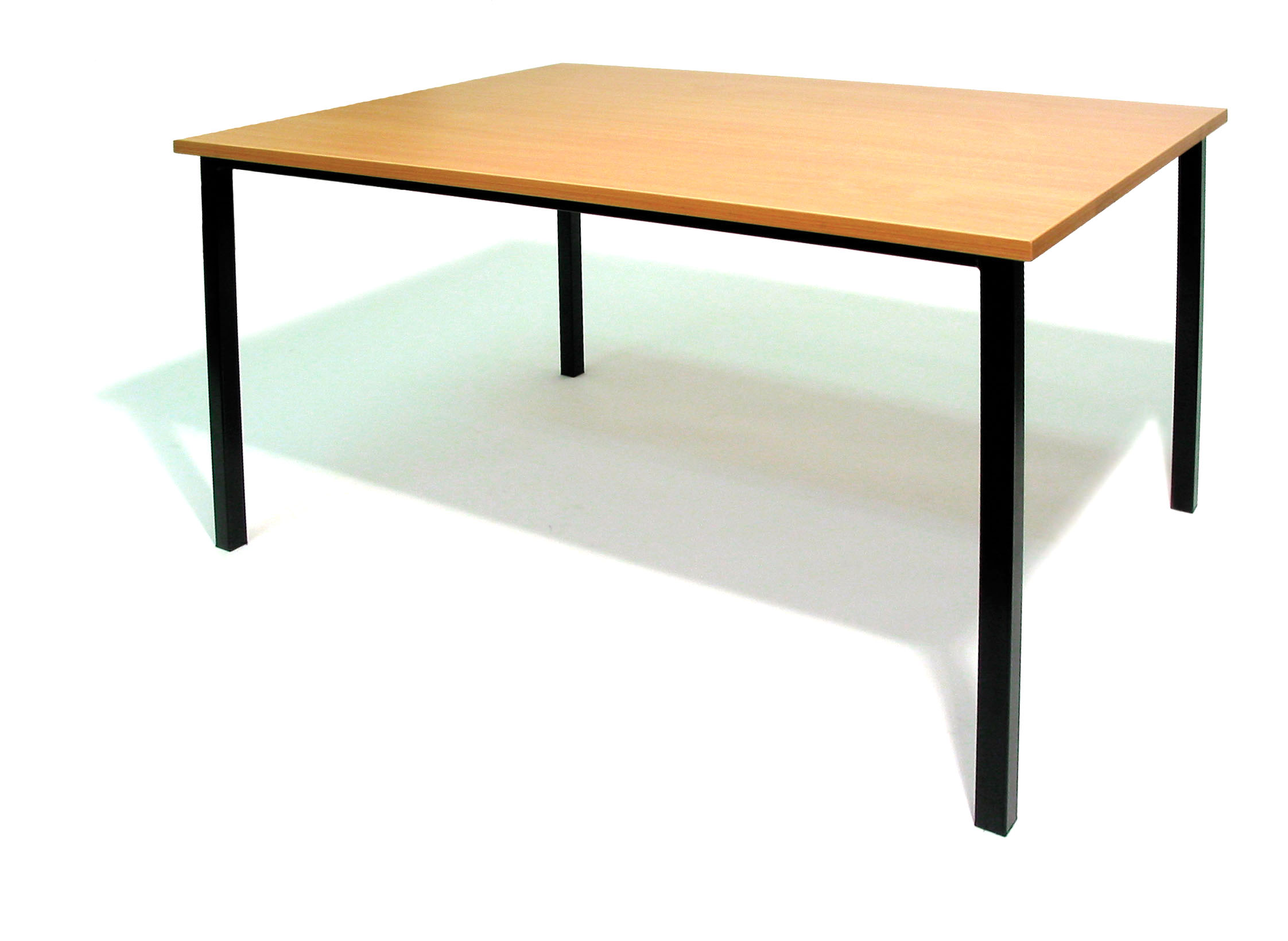 Rectangle School Table Clipart.