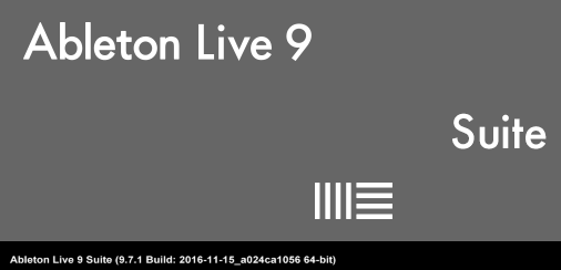 Ableton logo color has changed from alone.