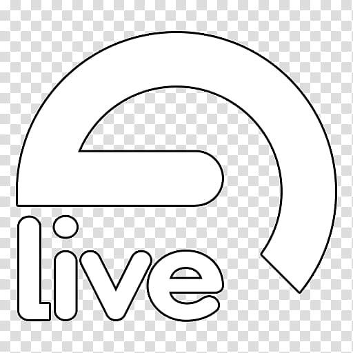 Ableton Live v, Ableton Live Logo White transparent.