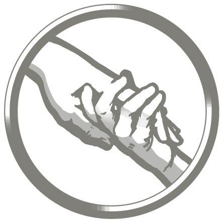 Abnegation symbol.