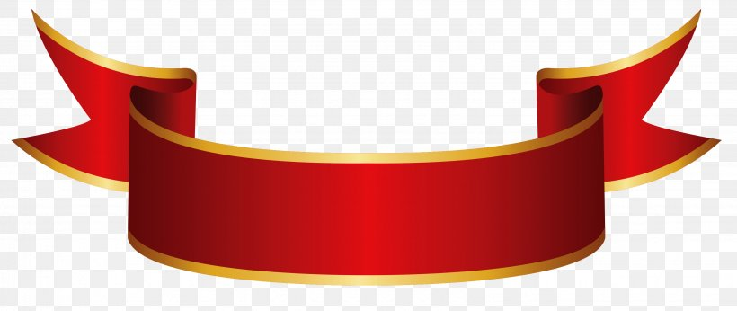 Banner Ribbon Paper Clip Art, PNG, 3058x1292px, Paper.