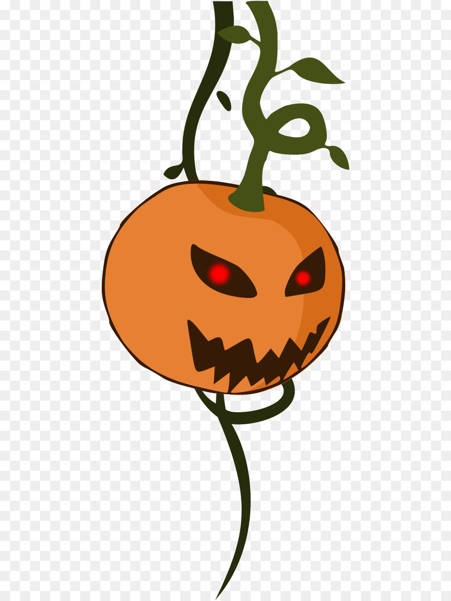 Cartoon Abóbora de Halloween Clip.
