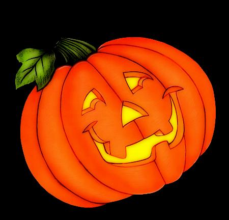 Abóbora Halloween png.