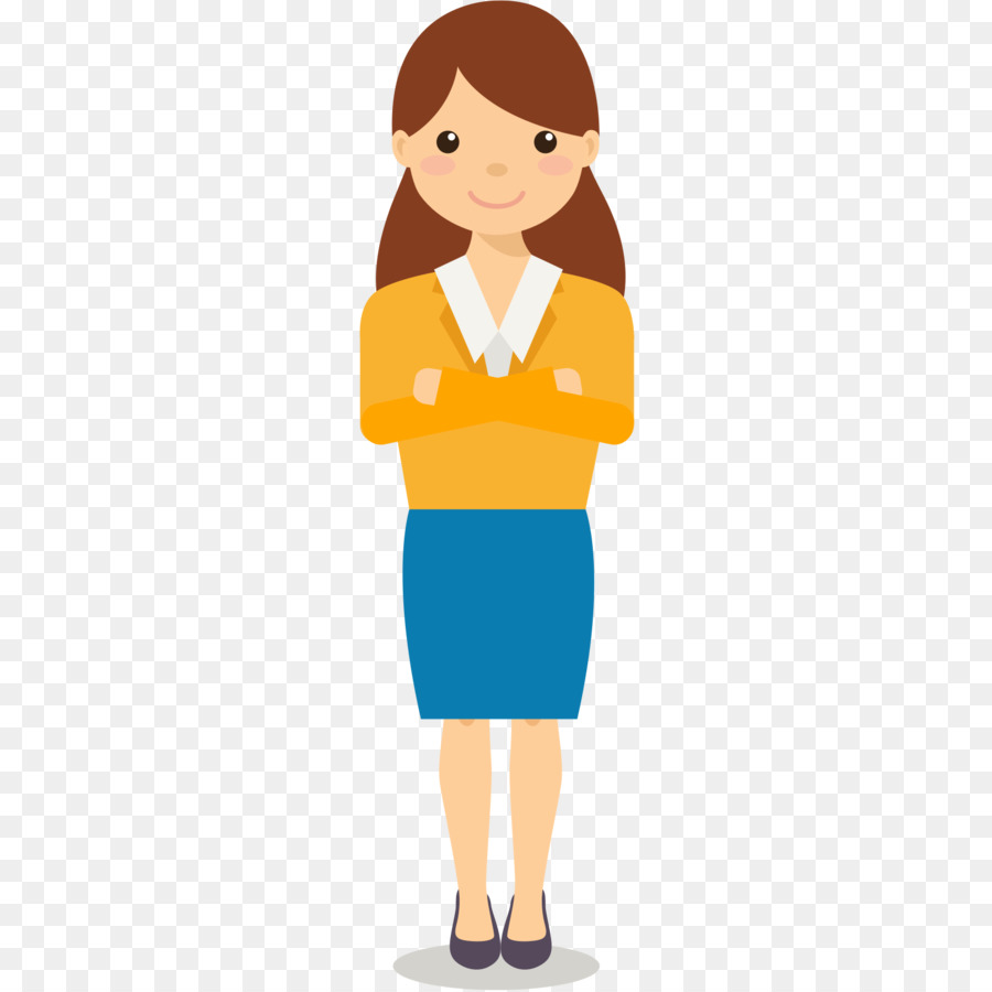 Woman Cartoon clipart.