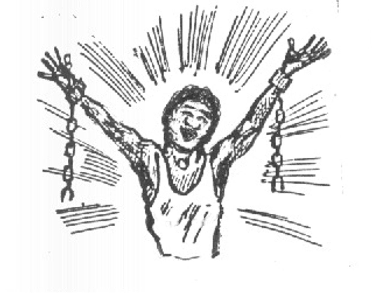 Abolition of slavery clipart.