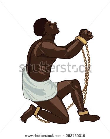 Slave Clip Art.