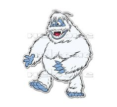 Rudolph Abominable Snowman Clipart.